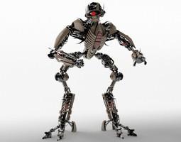 sci-fi Robot TR2102 3D model