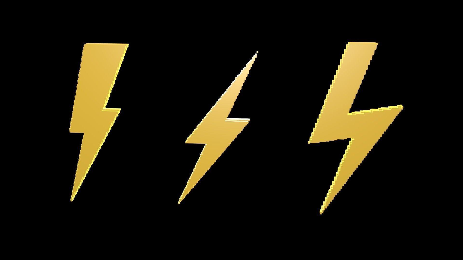 Thunder symbols voxel 4