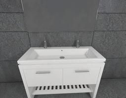 double sink 2nd floor 3D