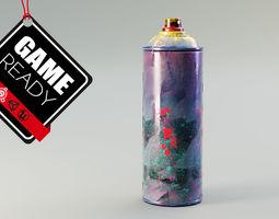 Spray Can Dirt 3D model