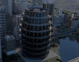 air-vent Modern Apartment 3D model