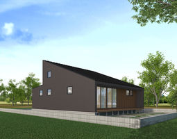 3D model ARCHITECTURE house