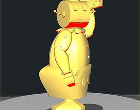 3D print model Rosey The Robot