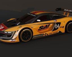 Renault sport RS 2015 3D model