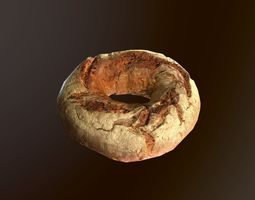 Tasty Bread 09 3D model