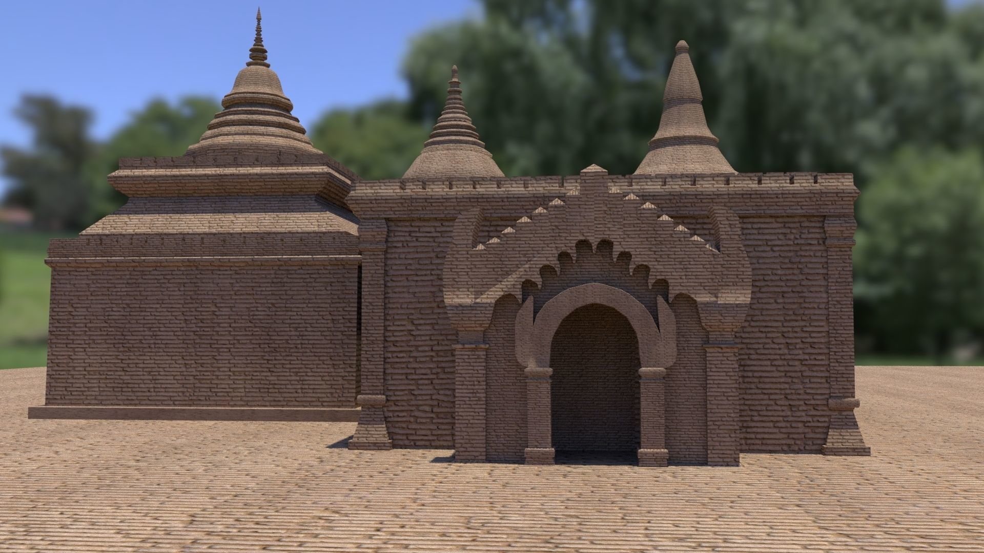 Bagan Budha temple