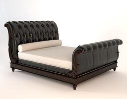 Clivedon Tufted Bed 3D model