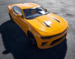 3D asset Chevrolet Camaro SS UE4 Project