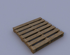 3D model game-ready Pallet