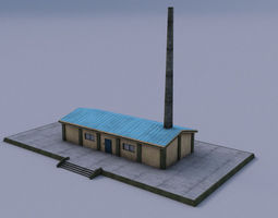 Power Plant 3D asset