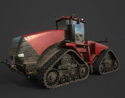 Tractor 600 HP 3D model