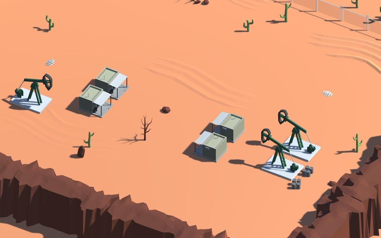 Low Poly Desert Environment for Unity | 3D model