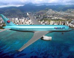 Boeing 787-8 Korean Airlines 3D