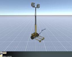 3D model Mobile Lighting