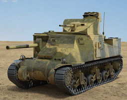3D model M3 Lee