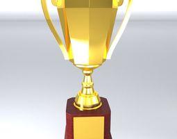 Trophy Cup 3D asset