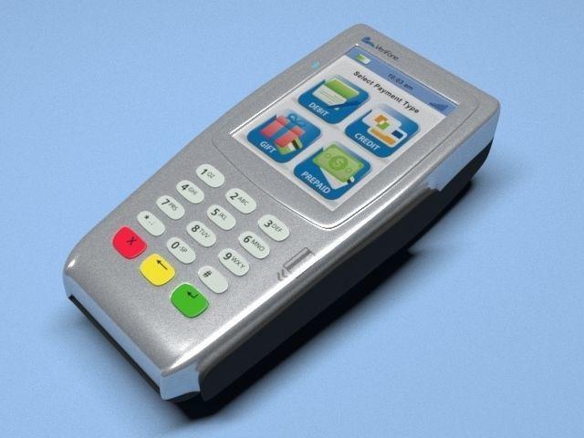 Verifone VX 680 Wireless POS   3D model
