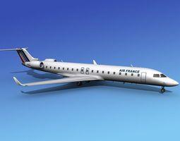 Bombardier CRJ700 Air France 3D model