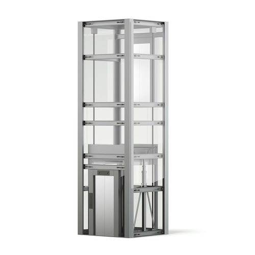 glass elevator 3d model 3d model max obj mtl fbx c4d dxf dwg 1