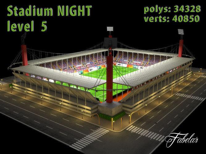 Stadium Level 5 Night