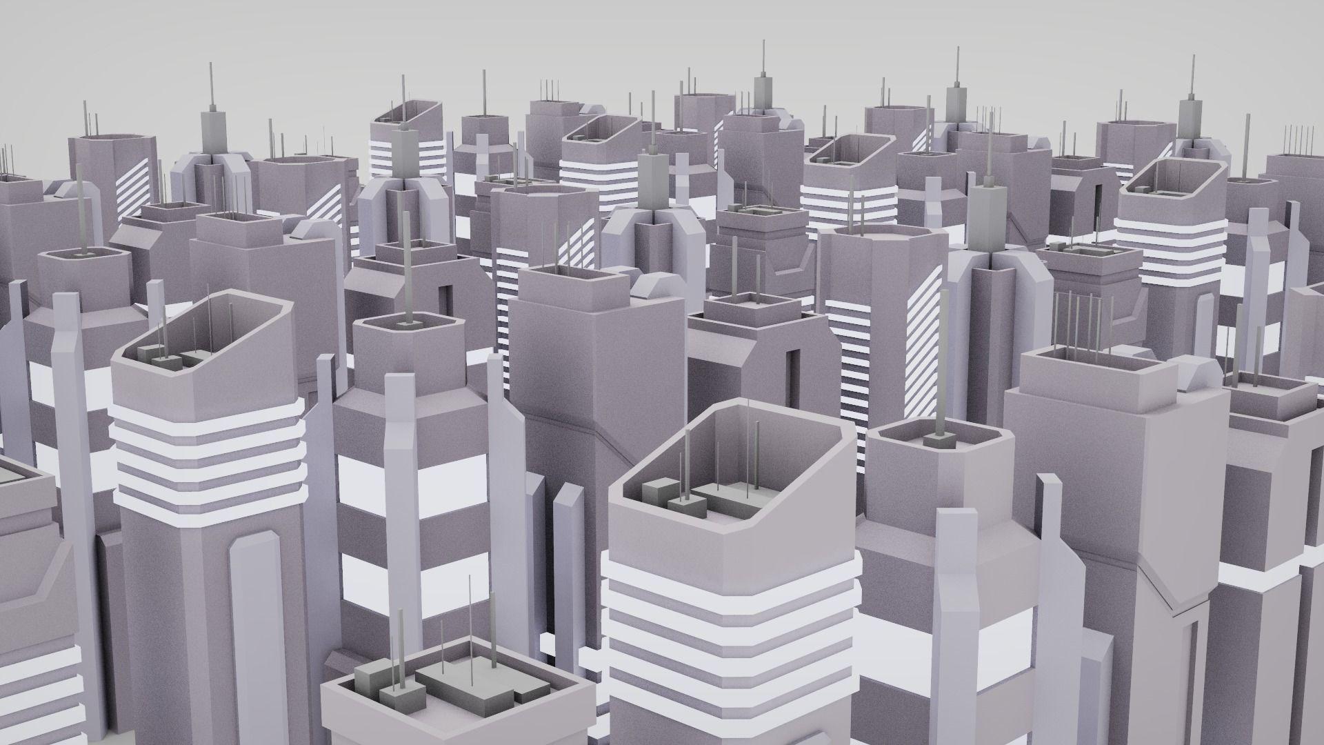 7 SciFi Skyscrapers