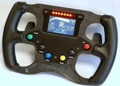 formula renault 2000 steering wheel 3d model ige igs iges 1