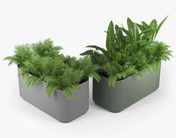 3D model Urbilis Mod Planter 03