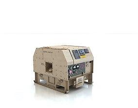 Military generator MEP-831A 3D dieseldiesel