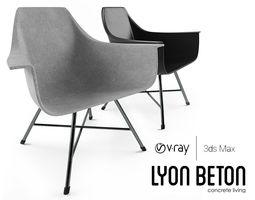 3D asset Lyon Beton