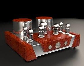 Vacuum tube amplifier 01 3D