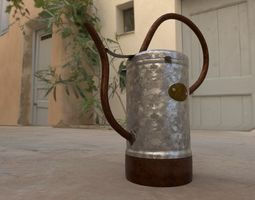 Watering can 3D model VR / AR ready