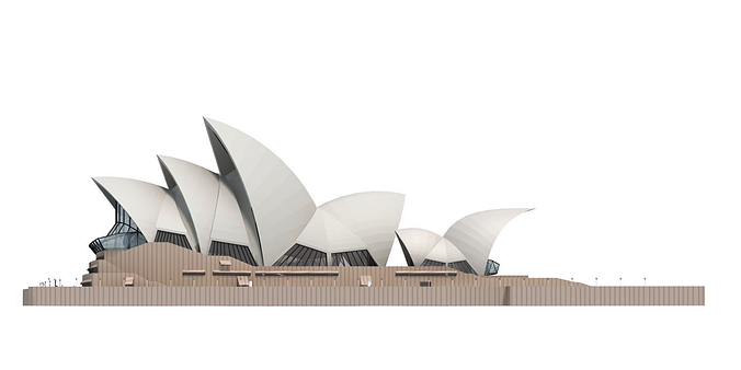 Opera house 3d model free