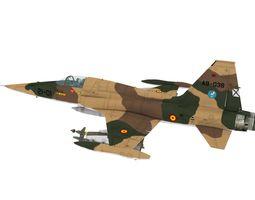 3D asset realtime Northrop CASA SF-5 A Ala 21 scheme