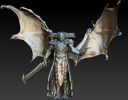 3D model Destiny Oryx statue