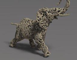 3D printable model Ornamental elephant