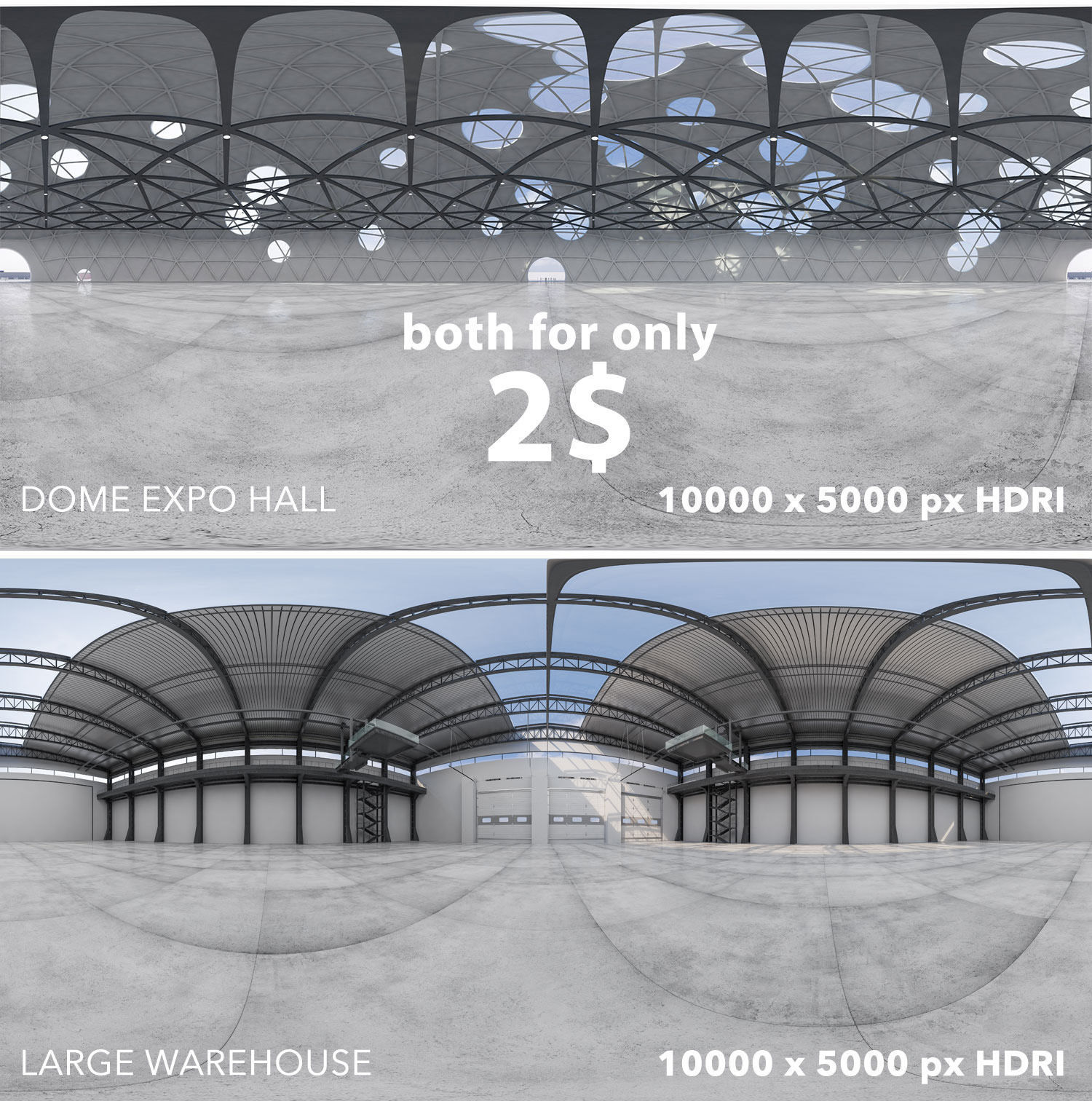 Two interior 360 HDRI 32BIT | Texture