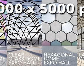 Six interior 360 HDRI 32BIT 3D model