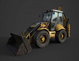 Tractor b115 3D asset