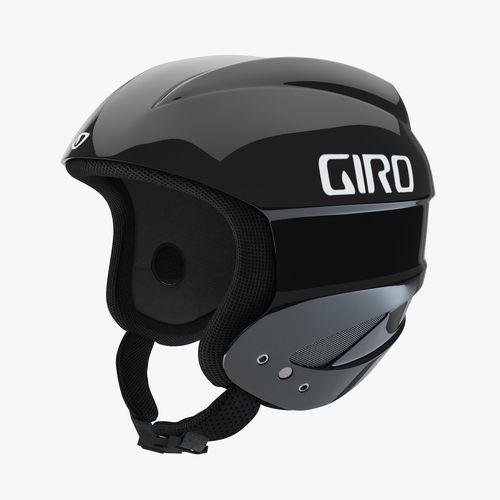 giro sestriere helmet black 3d model max obj mtl fbx 1