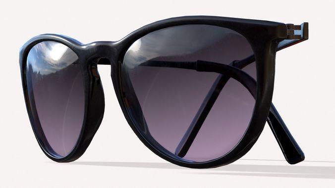caf1508570 sunglasses 3d model max obj mtl fbx tga 1