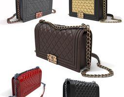 3D model Luxury Chanel Purse