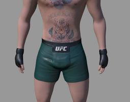 Conor McGregor 3D model