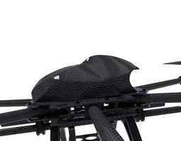 drone hexacopter  3d model obj fbx dxf stl blend