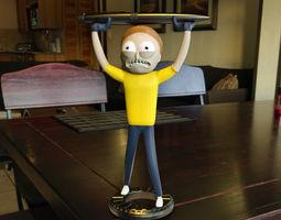 3D print model toys MORTY SMITH PEN HOLDER