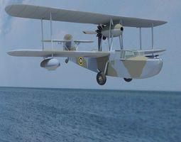 Supermarine Walrus Mk-1 3D model