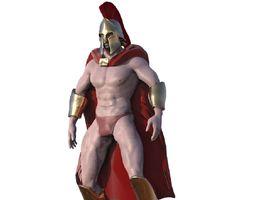 Spartan 3D asset