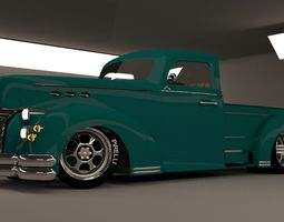 3D model custom pick up3