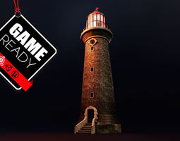 Lighthouse 3D asset VR / AR ready