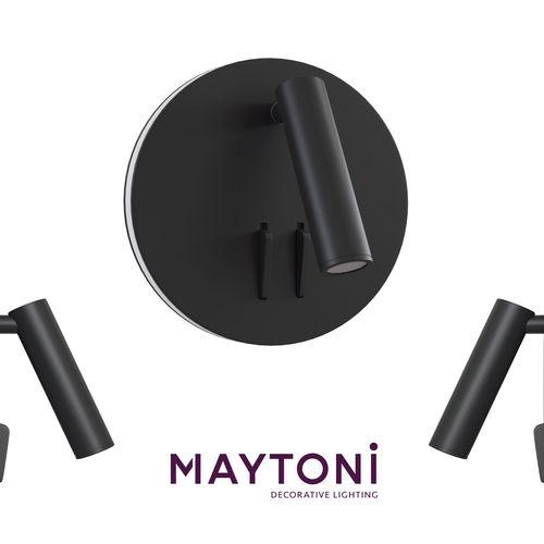 Sconce ios 176 C176-WL-01-6W-B Maytoni Modern
