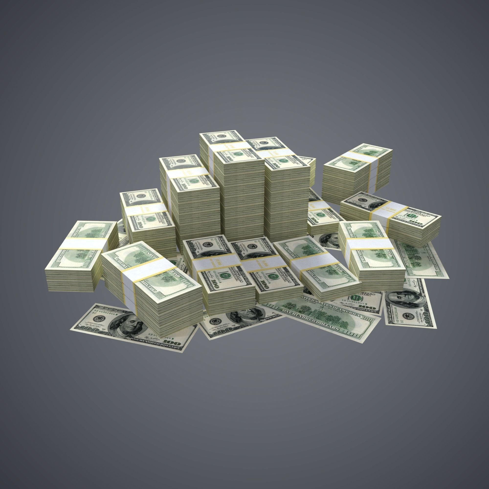 100 Dollar Bills Packs